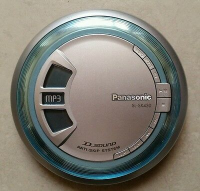 PANASONIC SL-SX430 MP3 Portable CD Player Only - Tested