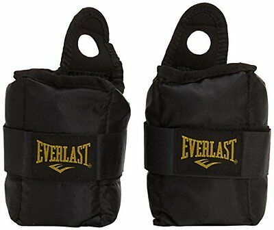 Everlast Men s Pair of Ankle Weights - Black, 5 Lb