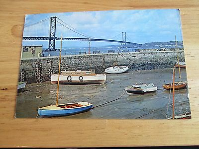 Postcard of The Forth Road Bridge from South Queensferry, West Lothian 1964 4255