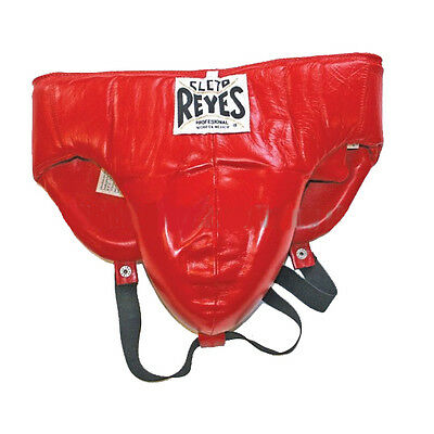 Cleto Reyes Traditional No-Foul Padded Boxing Protective Cup - Red