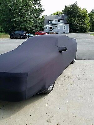 New 1994-1998 Ford Mustang Coupe & Convertible Indoor Car Cover - Black