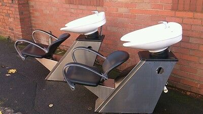Hairdressing Backwash / Chair Unit, Pre-Owned 2x available vgc