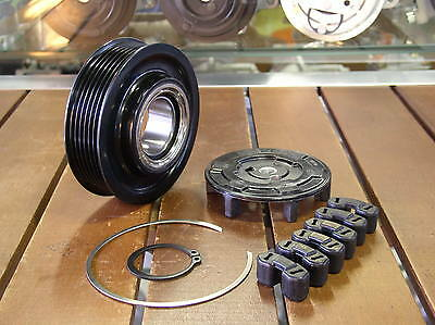 Air Compressor Complete Clutch Pulley For AUDI A4 8E A6 4F NEW