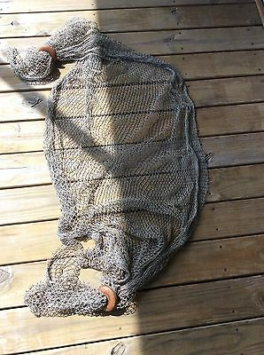 Decorative Fish Netting With Two Floats