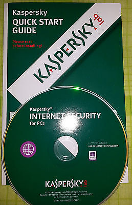 Kaspersky Internet Security  2017   -  3 Pc   *  1 anno   *  New  * KIS 3PC *