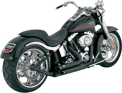 Vance & Hines - 47221 - Shortshots Staggered 2:2 Full Exhaust System (Black)
