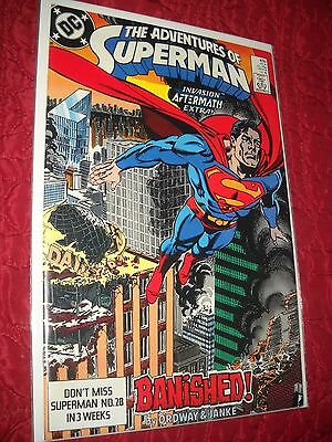 Adventures Of Superman Comic # 450  Tough 6.0 Fn 1989 Banished!