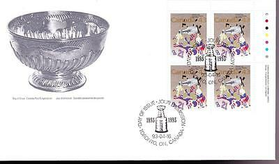 Canada 1993 FDC sc# 1460 Stanley Cup UR