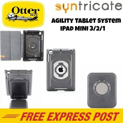 OtterBox Agility System for iPad Mini 3/2/1-Grey Portfolio Cover / Case / Shell