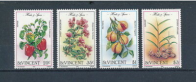 St. Vincent #829-32 MNH,Herbs and Spices