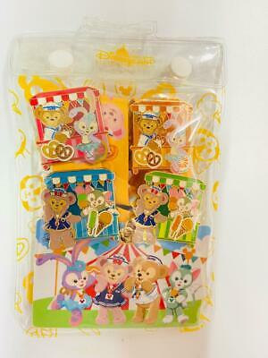 HKDL 2016 3D Duffy Gelatoni Cricle Mirror set Keychain ( Disney Pin Shellie May)