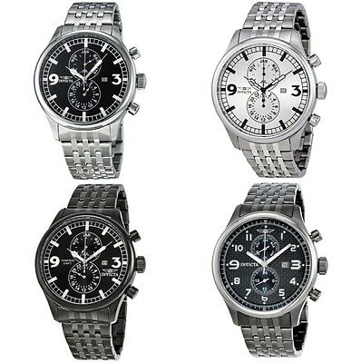 Invicta II Collection Stainless Steel Mens Watch 0365 / 0366 / 0367 / 0368