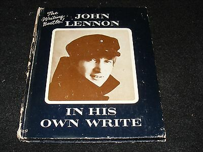 John Lennon IN HIS OWN WRITE Simon And Schuster 1964 11th Printing Hardcover