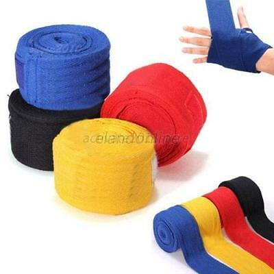 1Pair 2.5m Protect Boxing Hand Wraps Bandages Boxing Protecting Fist Punching