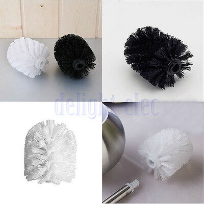 Universal Toilet Brush Head Holder Replacement Bathroom WC Clean Accessory DH