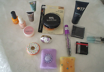 Excellent Lot Of Bulk Makeup Items 25 Items + 5 Bonus Items