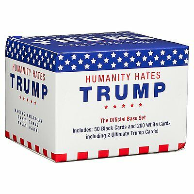 Humanity Hates Trump Cards Against Humanity Party Game Base Pack 200 Cards Fun!