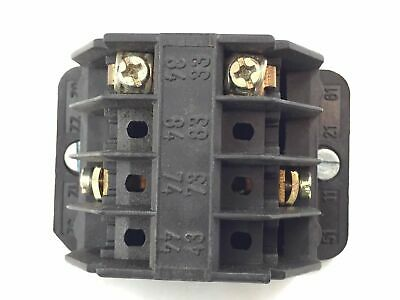 Demag 87419844 Control Contact Block 10A 150V Switch E-Stop