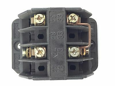 Demag 87419544 Contact Block 10A 150V Switch Double Depression