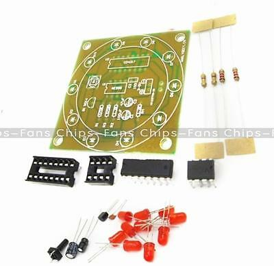 1PCS Electronic Lucky Rotary Suite DIY Kits Production Parts And Components