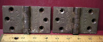 Antique G. Mayer Tight Pin Butt Hinges #01