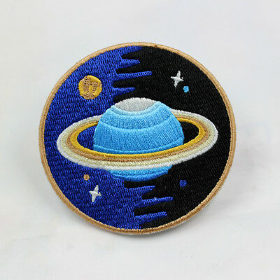 1PC New Space Explorer Quality Patch Iron On Applique Embroidered Sew Craft DIY