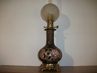 Petroleumlampe, Moderateurlampe 1870 restauriert, oil lamp