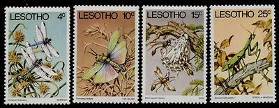 Lesotho 262-5 MNH Insects, Dragonfly