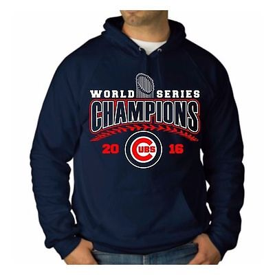 Chicago Cubs MENS 2016 World Series Champions Sweatshirt Hoodies  T-shirts