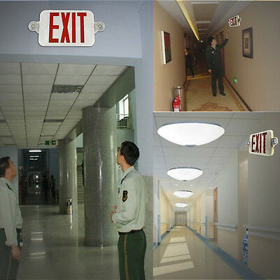 LED Exit Sign & Emergency Light – RED Compact Combo UL COMBORJR OY