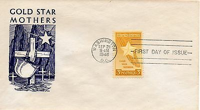 US FDC #969 Gold Star Mothers (6521)