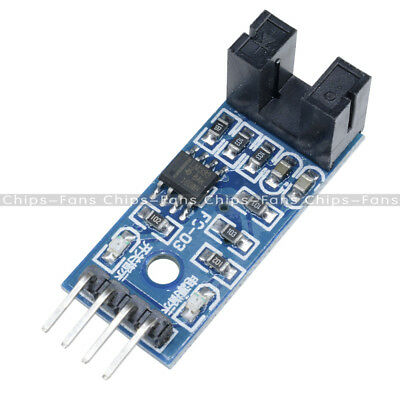 2PCS LM393 Slot Type Optocoupler Module 3.3V-5V Comparator Slot-Type For Arduino