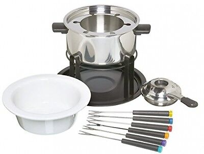 3-in-1 Fondue Set for Chocolate, Meat And Cheese Fondue complete kit