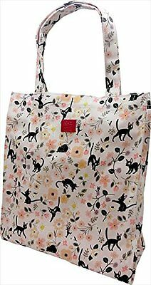 "Kiki's Delivery Service ""Flower Garden"" ensemble textile series tote bag"