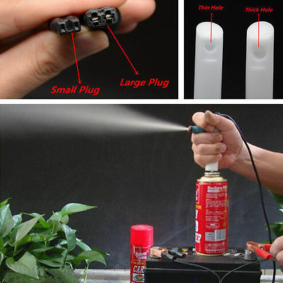Car Autos Professional DIY Fuel Injector Flush Cleaner Adapter Cleaning Tool Kit