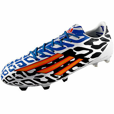 Adidas Mens F50 AdiZero FG Lionel Messi Battle Pack Football Boots *AUTHENTIC*