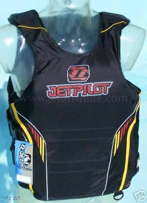 Gilet Flight Race Black/Red Jet Pilot - Taille S/M - Norme CE - Jetski - PWC