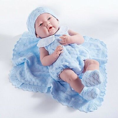 18054 Berenguer La Newborn Anatomically Correct Baby Boy Doll For Reborn Or Play