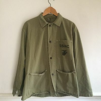 WW2 USMC P-41 HBT Jacket