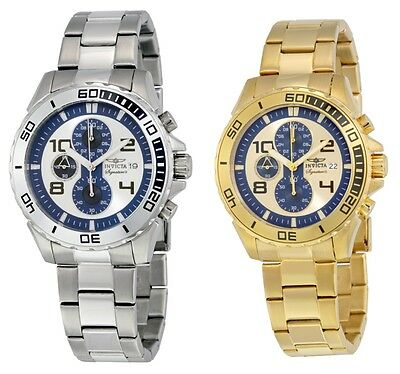 Invicta Signature II Chronograph Mens Watch 7389 / 7392