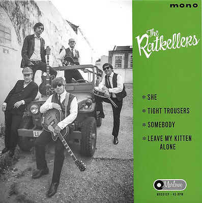 "THE RATKELLERS She vinyl 7"" EP NEW garage Merseybeat Little Willie John"