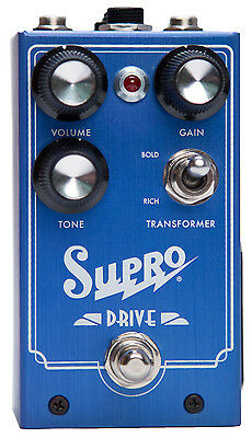 Supro SP1305 Drive Guitar Effect Pedal (NEW)