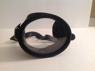 Vintage Amf Voit Scuba Diving Mask. Free Shipping