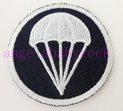 Wwii Us Military Paratroopers Garrison Cap Patch Side Cap Patch-0360