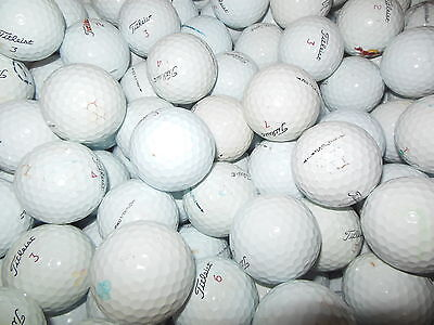 100 A/b Grade Condition Titleist Pro V1 X Golf Balls