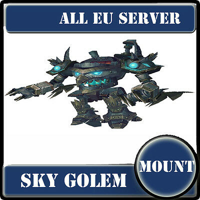 WoW Mount EU server ---Sky Golem---WoW Mount--Golem céleste--Monture WoW EU