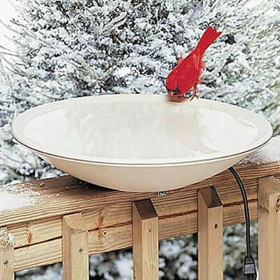 Allied Precisions Heated Bath W/deck Mount - Outdoor Decor For Songbird Lovers!!