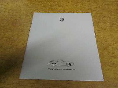 PORSCHE 928 SALES BROCHURE Collectors Book S/S2 USA UK English S3 Very rare!
