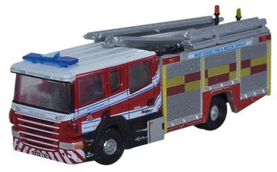 Brand New N Gauge Oxford Scania Pump West Sussex Fire & Rescue