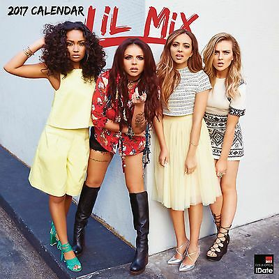 Little Mix Calendar 2017 with free pull out poster